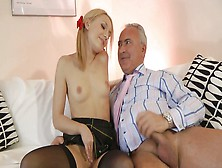 Nataly dangelo has a taste for cock that never goes away so working 9