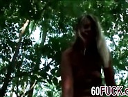 Blonde Milf Samantha Sucks Dick And Gets Fucked In The Woods