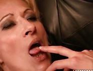 Pretty Teen Fucking Hot Granny With Strapon