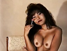 Astonishing Asian Babe Tina Shows Off Her Tight Holes For The Ca