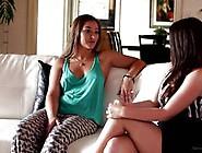 Dani Daniels Gets Lola Fox To Rider Her Hard Strap On