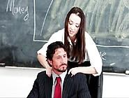 School Girl Desperate For Teachers Cock