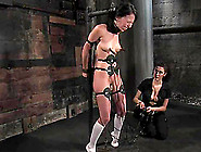 Adorable Veronica Jett Gets Toyed In Both Holes In Femdom Video