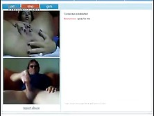 Chick Fingers Her Ass And Pussy During Live Chat