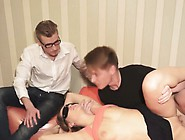 Horny Fella Watches His Slutty Girl Fucking With A Stranger