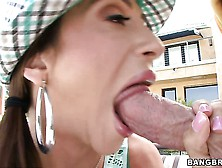 Latin Mommy Ariella Ferrera Seems To Know How To Party With Youn