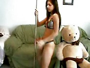 Angel Teen Model Teddy Bear Lap Dance