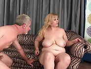 Big-Titted Plumper Sucks 'n' Fucks And Then Takes It U