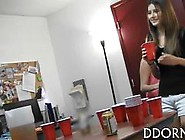 Horny Amateur Sluts Party In College Fraternity And Suck Dick