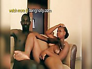 Black,  Amateur Couple Is Fucking Like Wild Animals And Moaning F