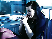 Horny Swedish Hooker Knows How To Smoke In A Sexy Way