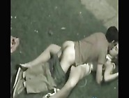 Teens Fuck On The Grass In The Park