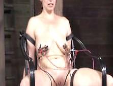 Bdsm Sub Bella Rossi Electro Tortured