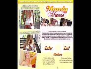 Mandy Monroe Petite Wife In Bbc Creampie Gangbang