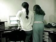 Office Lesb Fun