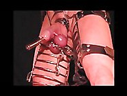 Sounding Captive Cock With Needle Skewered Balls