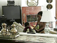 Black Butt Bitch Gets A Hardcore Pussy Slamming In Hot Retro Act