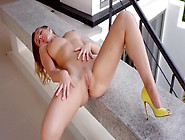 Sexy Ass Posing By Insolent Nude Model,  Kailena