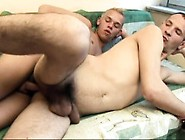 Skinny Guy Enjoys Every Deep Thrust Of Hard Meat Up His Ass Bare