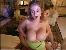 Busty Cassandra Couch Anal