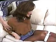 Kelsie Chambers Tied In Pantyhose