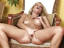 Mature Blonde Valentina Valente Rubbing Her Clit