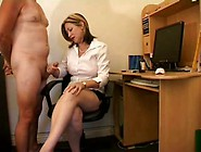She Is Totally In Charge Of His Cock