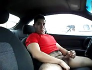 Jacking Off In A Parking Lot