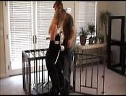 Cutie In Cage Bondage 1