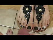Classy Chick Gets Her Fantastic Feet In Sexy Sandals Seeded On T