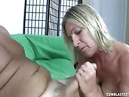 Wild Blonde Wife Gives A Great Hand And Blow Job