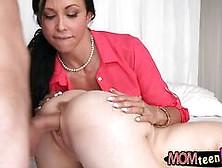 Stepmom Jewels Jade Threesome Session In The Bedroom Segment