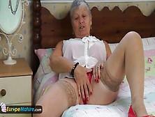 Compilation Di Ditalino E Striptease Con La Focosa E Sexy Nonna
