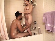 Judy Gets Nailed By A Big Stiffy And They Take A Shower Together