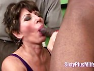 Mature Mommy Loves Black Cock