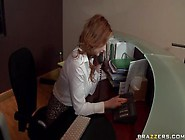 Office Sex Video Featuring David Perry And Tarra White