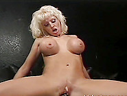 A Milf With Big Fake Tits Gets Her Ass Fucked By A Big Black Coc