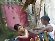 Indian Outdoor Village Sex Of Bhabhi Romance With Lover During B