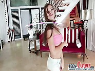 Amazing Teen Babe Callie Calypso Gets Pussy Busted Wide Open