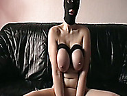 I Love Masturbating With Clamped Tits In Front Of A Camera