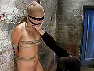 Asian Girl With A Stocking On Her Head Gets Dominated