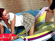 Naughty Schoolgirl In Uniform Gets Her Anal Thrilled By This Tas