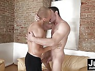 Gay Slut Eric Pounded Roughly On Couch By Horny Ricky