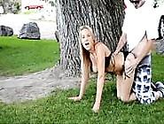 Follando En Un Parque Público