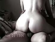 Mature Woman With Big Booty Rides Her Man On The Bed