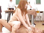 Maria Yumeno Naughty Milf Teacher Has Big Tits Fucked