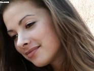 Energists - Andrea - Brunette Cutie Strips In 'sweet Mirage