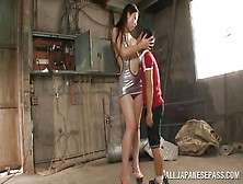 Tall Slut And A Short Cock