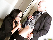 Johnny Sins Puts His Ram Rod In Adorable Katsunis Pussy