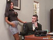 Elicis Solis Takes Her Bosses Big Dick On His Desk
